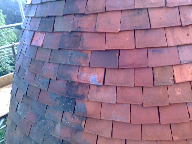 Oast House Roof Cleaning