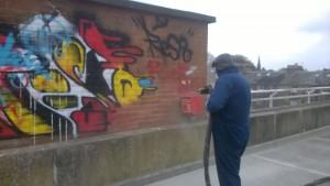 Multi-Storey Car Park Graffiti Removal
